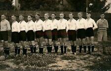 Foto, Wk2, Blick auf eine Fussballmannschaft (N)20930