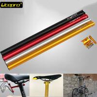 Litepro 33.9*600mm Full CNC Faltrad Fahrrad Sattelstütze Sattel Rohr Sitz Tube