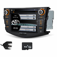 FOR TOYOTA RAV4 2006-2012 Car DVD Player GPS Map In-dash Stereo Radio +Camera