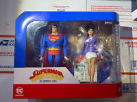 DC COLLECTIBLES SUPERMAN & LOIS LANE ACTION FIGURE BOXED SET ANIMATED SERIES