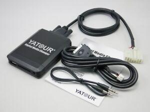 Digital Media Changer USB SD Aux iPod Interface For Big5+7Pin Toyota Lexus Radio