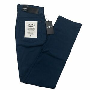 7 For All Mankind Men's The Straight Clean Pocket Japanese Fabric Jeans 30 New