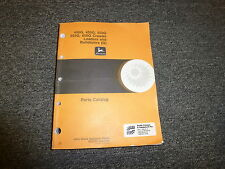John Deere 555G 650G Crawler Loader Bulldozer Parts Catalog Manual Pc2154