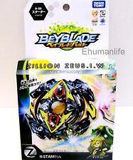 Takara Tomy Beyblade Burst B-59 Starter Zillion Zeus .I.W with Original Box