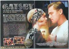 2013 - GATSBY le MAGNIFIQUE - Film Ouverture Cannes - Extrait du Roman- 40 pages