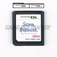 Soma Bringer ENGLISH Translation Nintendo DS Custom Cartridge RPG