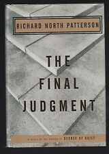 The Final Judgment by Richard North Patterson (1995, Hardcover), Signed 1st