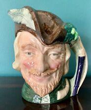 Large 7-1/2� H Vtg 1959 Royal Doulton Robin Hood Character Toby Mug