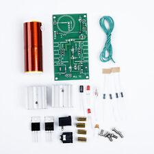 1 Confezione Mini Tesla Bobina Al Plasma Speaker Kit Elettronico Campo Music 15W