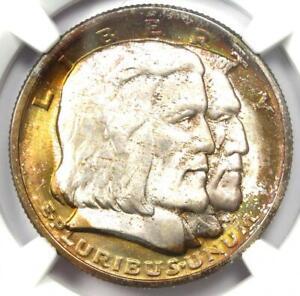 1936 Long Island New York Half Dollar 50C - NGC MS67+ Plus Grade - $13000 Value!
