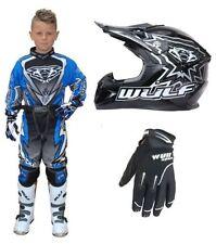 Pantalones de motocross color principal azul