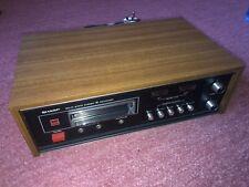SHARP RT 811E 8 Track Stereo Cartridge Tape Player Recorder Working Eight