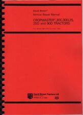 David Brown Cropmaster/30C/30D/25/25D/900 Repair Manual