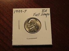 1999-P Jefferson Nickel (Choice BU) - FULL STEPS - Beautiful!