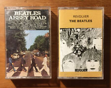The Beatles Abbey Road + Revolver Cassette XDR Lot EMI 1966 1969