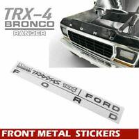 "For TRAXXAS TRX-4 Ford bronco CChand 1/10 Scale "" F O R D "" Logo Metal Emblem"