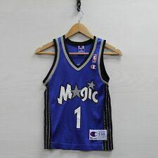 Vintage Tracy McGrady #1 Orlando Magic Champion Jersey Youth Small 6-8  NBA