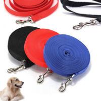 Dog Leash Long Obedience Recall Foot Feet Training Lead 10/20/32/50 FT HOT USA