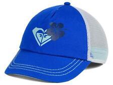 Roxy Along The Way Trucker Womens Girls Snapback Adjustable Royal Blue Hat NWT