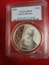 Barons of LATVIA 2006 Krisjanis KAS VAR ZVAIGZNES silver .925 coin PCGS PR69 ngc