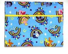 My little Pony Toddler Pillowcase on  Blue cotton MLP10-1 New Handmade
