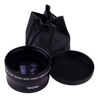 58mm 0.45X Wide Angle Macro Lens For Canon EOS 450D 500D 550D 600D 1100D Salable