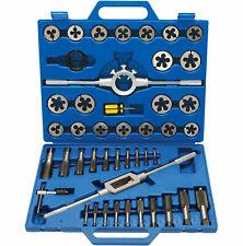 45 Pièce Ingénieur mécanicien TAP Die Tool Kit Métrique Cutter Set M6-Filetage M24