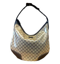 NEW GUCCI Large Crystal Princy Hobo Bag Handbag w/Vintage GRG Web 293596 8467
