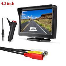 4.3 inch 800x480 TFT-LCD Display Screen Reverse Monitor For Truck RV Van SUV