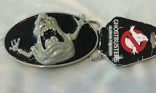 Ghostbusters Metal Belt Buckle -  GLOW IN THE DARK - Officially Licensed