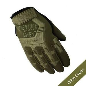 Army Combat Tactical Gloves Men Full Finger Camouflage Paintball Military Gloves