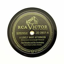 "TEX BENEKE & HIS ORCHESTRA ""A Lovely Rainy Afternoon"" VICTOR 20-2837 [78 RPM]"