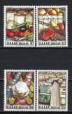 Grèce -Greece 1981 produits exportations Yvert n° 1419 à 1422 neuf ** 1er choix