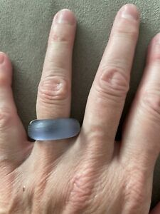 Alexis Bittar Lucite Ring. Size 7.75
