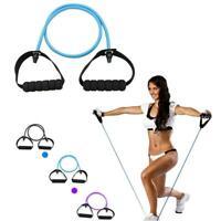 Elastic Resistance Band Pilates Tube Pull Rope Gym Yoga Fitness Yoga Rope
