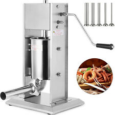 Poussoir a viande 3 L Machine À Saucisse viande Hachée avec 4 x tubes