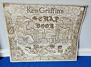 Vintage 1952 KEN GRIFFIN'S SCRAP BOOK Craftool Leathercraft Pattern Book Leather