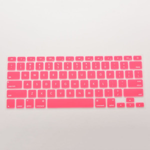 Colorful Silicone Keyboard Cover Sticker Macbook Air1 3 Pro 13 15 17 Protector
