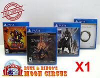 1X SONY PLAYSTATION PS4 CIB GAME -CLEAR PLASTIC PROTECTIVE BOX PROTECTORS CASE