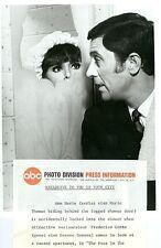 MARLO THOMAS CESARE DANOVA THAT GIRL ORIGINAL 1968 ABC TV PHOTO