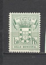 3480-ANTIGUO SELLO LOCAL CEUTA ** FISCAL REVENUE NEW1,5