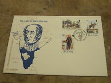 1985 Isle of Man First Day Cover / FDC - Sir Mark Cubbon - India
