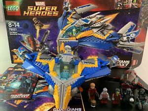 Lego 76021 Marvel Guardians Of The Galaxy Milano Spaceship Rescue Pre loved