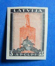 1933 LATVIA 3S/53S SCOTT# CB15a MICHEL # 216B UNUSED                     CS40110