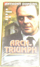 Arch of Triumph Anthony Hopkins New VHS video! Nice See!