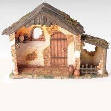 "Roman Fontanini 5"" Collection Lit Nativity Stable (50567)"