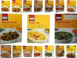 (5  PACK) Ashoka Heat and Eat/Ready Meals 280G-All Varieties (Pack of 5)