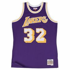 1d1a7d10f60 Magic Johnson Los Angeles Lakers Mitchell & Ness HWC Jersey Size L