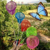 Enfants Papillon Pêche Épuisette Enfants Prise Insecte Extensible Plage