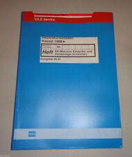 Manuale Officina VW Passat B3 35i Ke-Motronic Einspritz- Und Zündanlage Ab 1988
